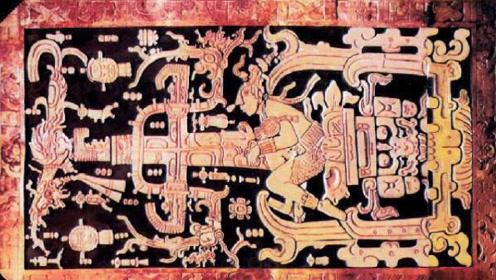 """玛雅人是外星人?千年前雕刻被复原,像构造精密的""""宇宙飞船"""""""