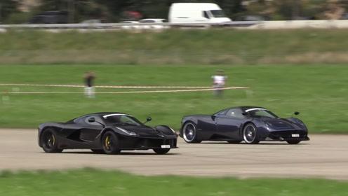 2019速度节跑车对决赛:说超车就超车,帕加尼的速度不是盖的