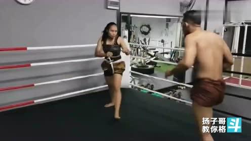 泰拳步法示范