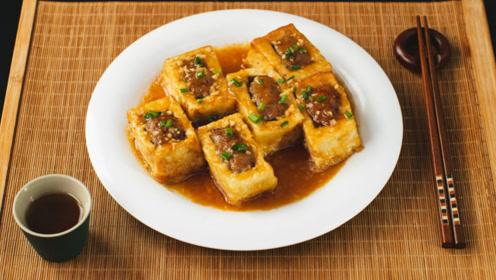 鲜嫩滑香的客家酿豆腐,做法简单又入味!
