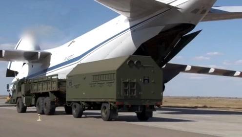 俄罗斯国防部曝光S-400防空导弹设备运往土耳其画面