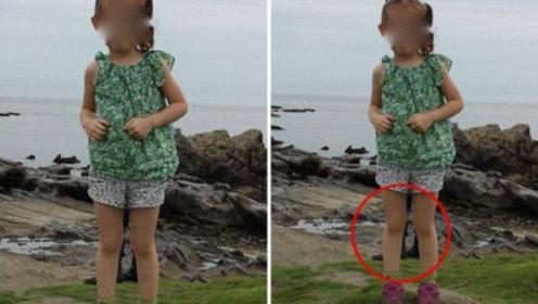 日本小女孩拍照,父母竟拍出一双军靴,而且没有上半身!