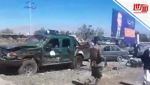 阿富汗总统加尼竞选集会现场发生爆炸 已造成24人死亡