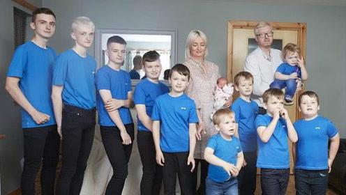 英国夫妻连生十个男孩,最终迎来女儿,家庭险些被吃垮!
