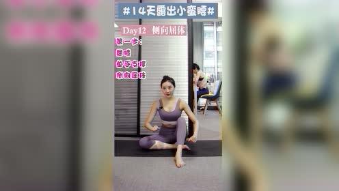 侧向屈体瘦侧腰9.17