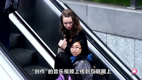牛人为商场设计钢琴楼梯,行走能播出曲调,楼梯从此使用率极高!