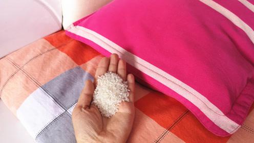 枕头下放一把大米真是厉害,不是迷信,后悔知道晚了,快提醒家人