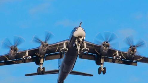 多次围绕日本飞行,任何国家都不敢开火击落,这才是最强核轰炸机
