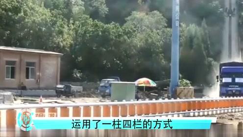 国外发明科技护栏,拯救了无数生命,中国一些地方已经开始运用