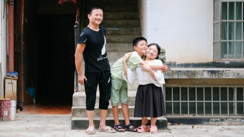 脑瘫男子再婚追求1米瓷娃娃 10岁儿子见第一眼就抱着喊妈妈