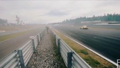 来看看真正的拉力赛,爆改的AE86时速220kmh漂移入弯!