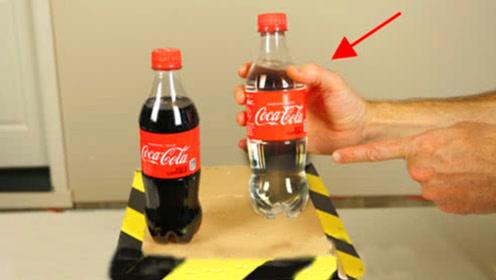 没了颜色的可乐,喝起来会是什么味道?老外实验亲测!