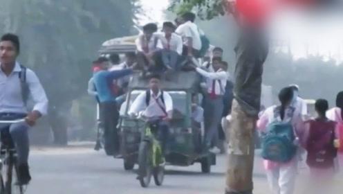 印度阅兵为何总有摩托绝技?先看看这个