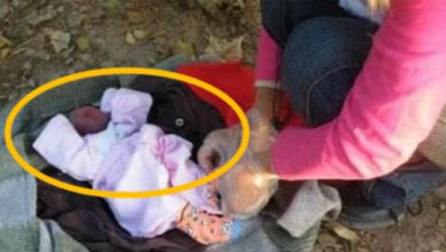 老奶奶垃圾桶捡到一弃婴,却怎么都洗不干净,养7年后才明白真相
