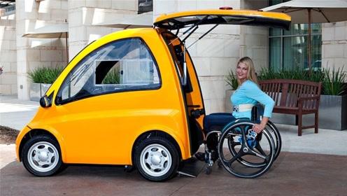 轮椅人士的福音!这电动车让轮椅直接变座椅,出行更方便