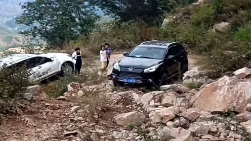 农村老司机开陆风走山路,这车越野性能真不错,值得入手!