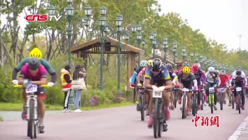 首届中俄自行车联赛总决赛在华夏东极抚远收官
