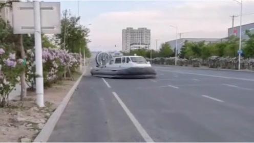乌克兰技术野牛气垫船,这技术厉害了,忍不住点赞!