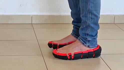 """鞋界""""敞篷车"""",以色列发明没有鞋面的鞋子,舒适健康还能防撞伤"""