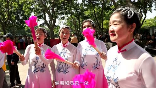 我和我的祖国|郑云龙亮相上海中山公园 只为这场活动