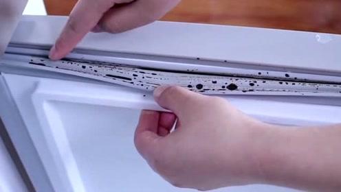 生活小窍门:冰箱胶条污垢发黑难清理?一个小技巧彻底清理干净