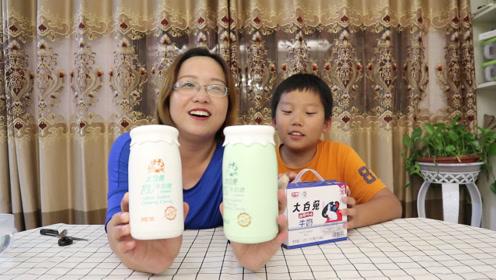 买了大白兔牛奶和奶糖,想知道奶糖在水里融化后和牛奶味道一样吗