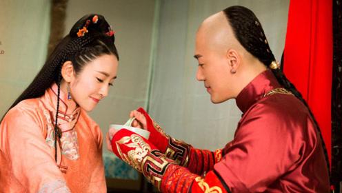 自己视为多年的弟弟,现在却把他娶为福晋,不仅宠爱有加还霸道