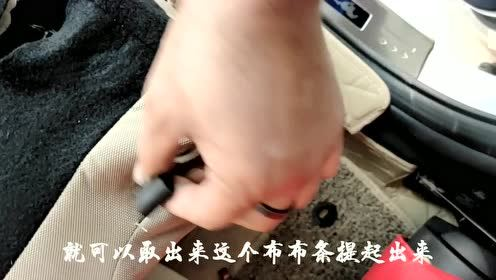 2018年福睿斯后排座椅拆放分享