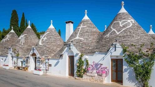 """意大利最浪漫""""蘑菇""""小镇:屋顶绘画别具一格,被列为世界遗产!"""