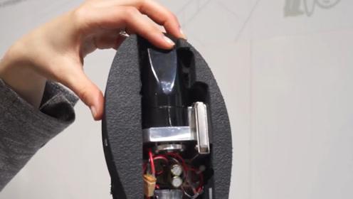 老外发明鞋子吸尘器,走路就能打扫房子,网友:还不如用扫帚呢