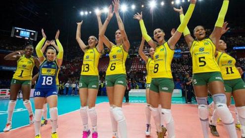为什么巴西女排的队员,身材都那么好?看完可算明白了!