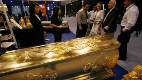 太原古墓出土黄金棺椁,里面是什么,为何专家一直没打开?