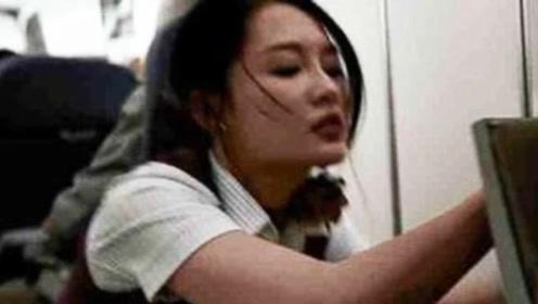 中国机长:李沁腾空砸飞机顶很吓人?原型空姐更惨,导演都不敢拍