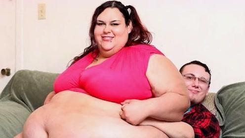 女子体重1088斤,被丈夫嫌弃后,5年减掉800斤成为大美女