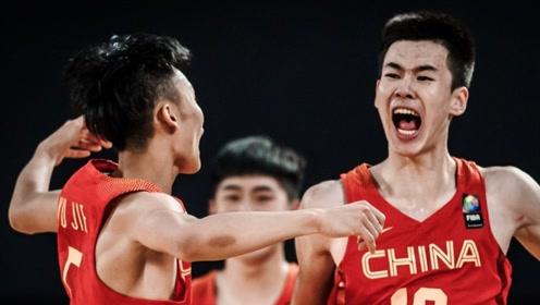 U19中国男篮世青赛精彩三分集锦 徐杰大心脏压哨三分