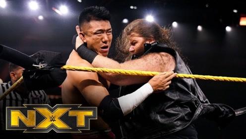 NXT529期 基里安戴恩大发飙 无缘无故爆桌Boa王彦博