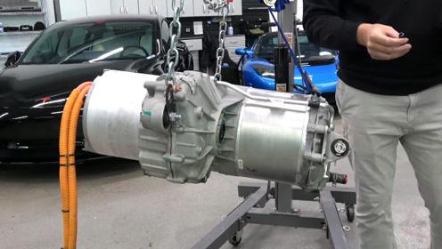拆解特斯拉豪华电动轿车发动机,这下终于知道为啥卖得贵了