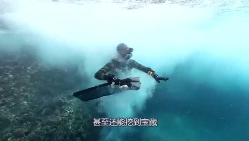 国外小哥来到夏威夷最危险的悬崖潜水,居然找到了宝藏