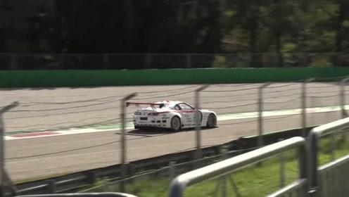 丰田超级MK4双涡轮GT2赛车,加速声和飞越声