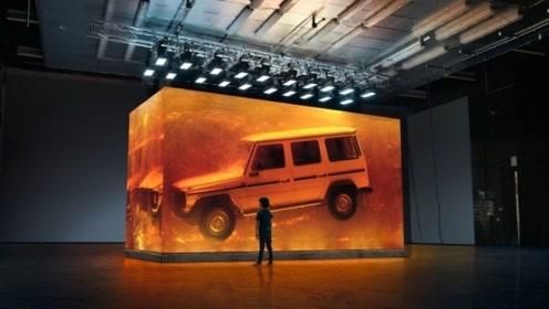 奔驰耗时90天打造世界最大琥珀,专门用来封存1979年奔驰大G