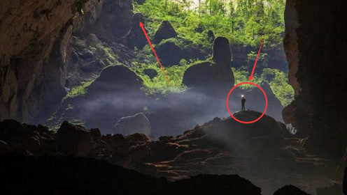 地球上最大的洞穴,可以装下72亿人口,就在我国附近!