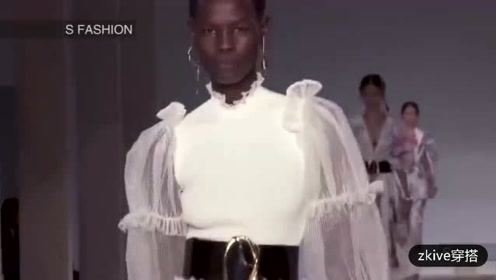 Alexander McQueen2020春夏春夏女装系列时装秀
