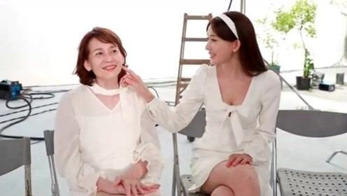 林志玲罕见晒与母合照 温柔抚摸妈妈脸颊母女祥和