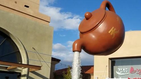 """中国造的""""悬浮茶壶"""",让外国人看懵,难道施了魔法?"""