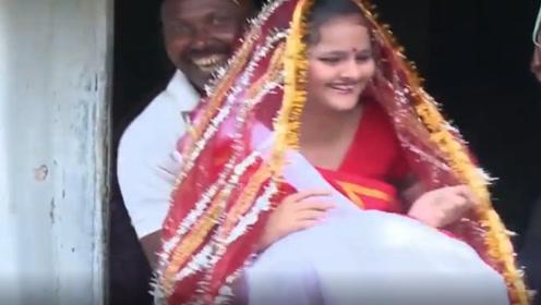 """印度最奇葩的婚礼,16女孩竟嫁给""""它"""",看完刷新三观"""