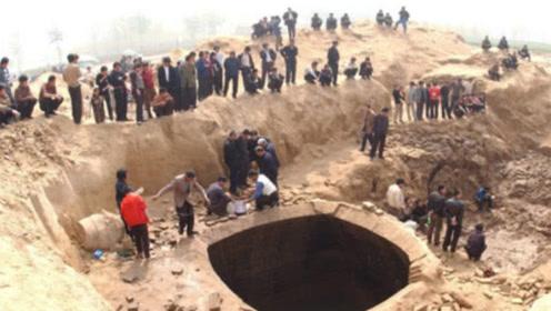 """山西一农田意外塌方,露出""""无底洞"""",却不料埋着此人的先祖!"""