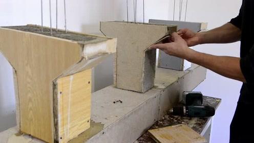 谁还不能有个工程师的梦,盖一座微型桥梁,还真是有模有样的