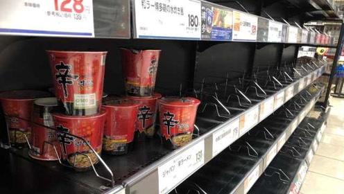 台风天日本民众拒屯韩国泡面?日本网友:其实是因为太辣