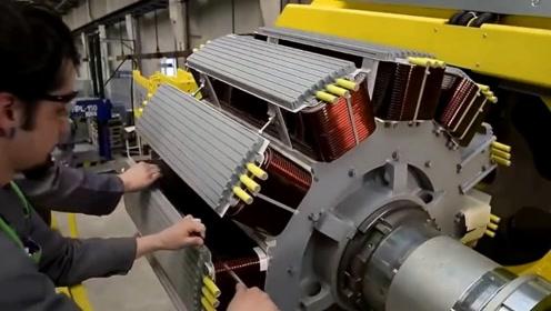 强大的工厂机器,第一次看到这样的特写镜头