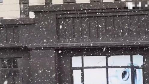 吉林长春迎来第一场雪